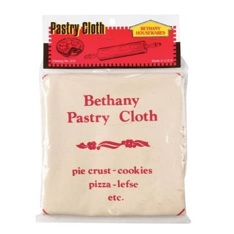 Bethany 19 in. L White Pastry Cloth