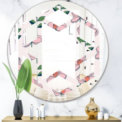 Pink Farmhouse Mirrors Shop Online At Overstock