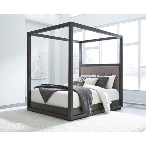 Carbon Loft Barron Full-size Canopy Bed