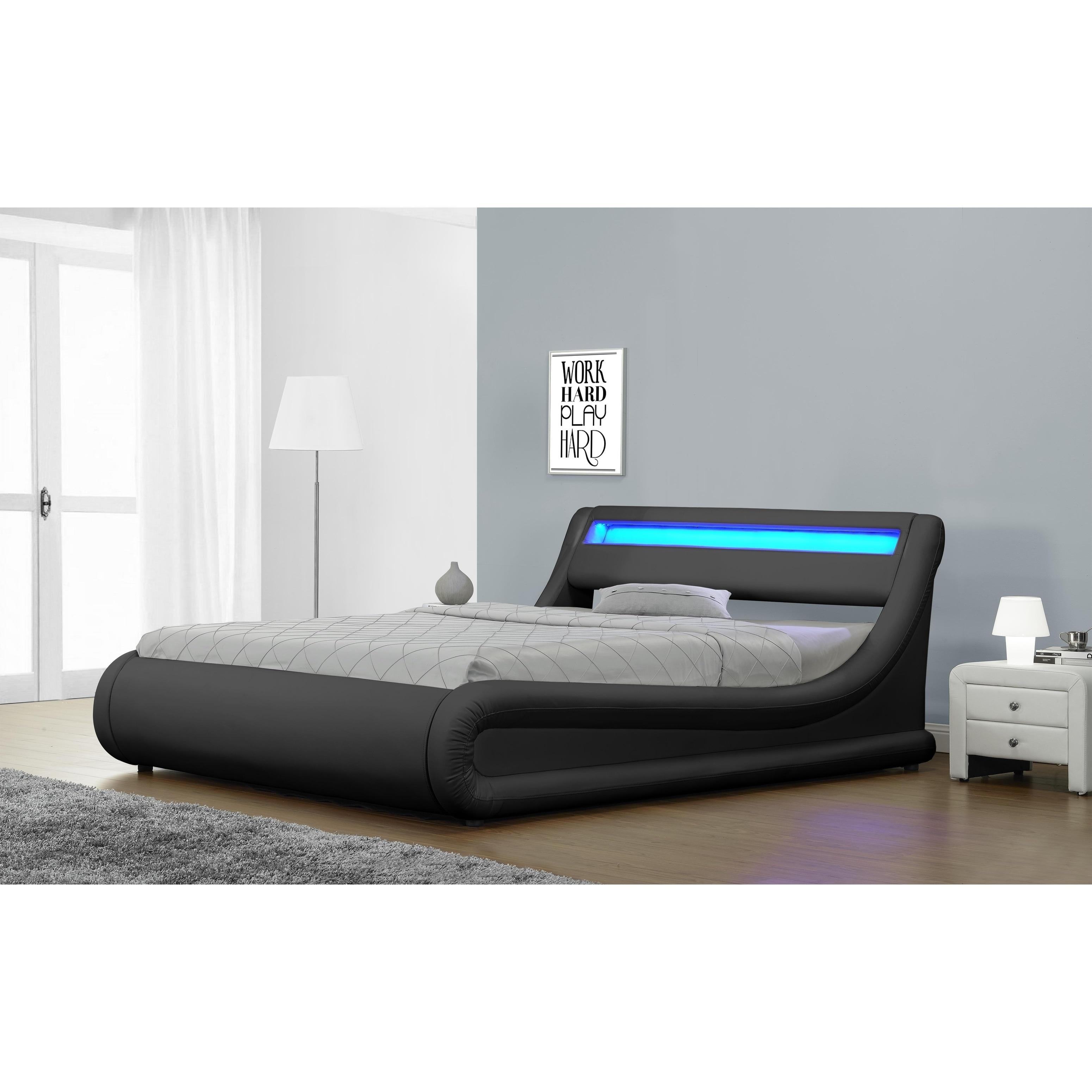 led bed frame