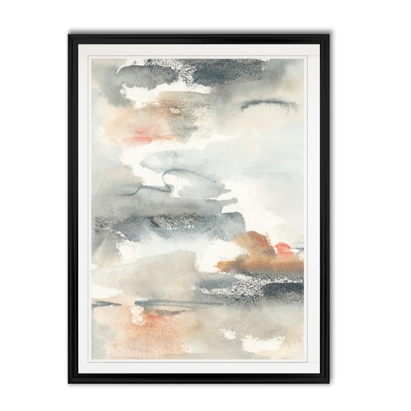 Lily Pad Impressions I -Custom Framed Print. Opens flyout.
