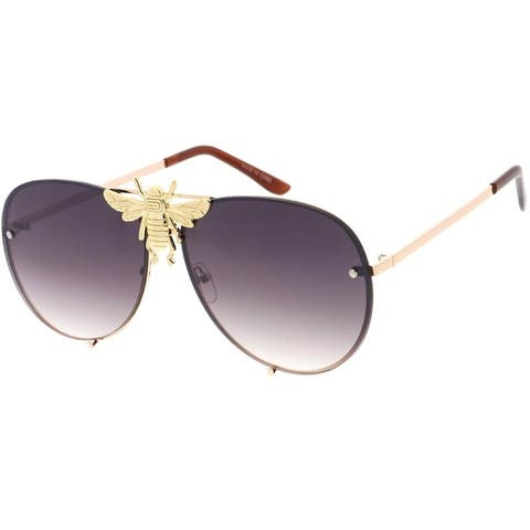 EPIC Eyewear Fashion Mega-Bee Aviator Sunglasses