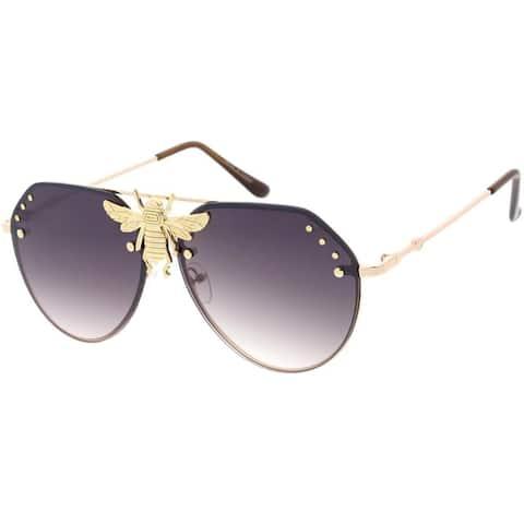 EPIC Eyewear Fashion Mega-Bee Aviator Sunglasses M24