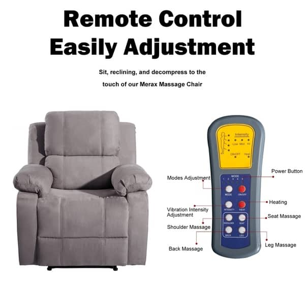 Heated Mage Reclining Chair
