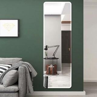 Frameless Wall-Mounted Round Corner Beveled Hd Vanity Mirror