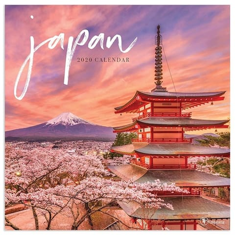 2020 Japan Wall Calendar