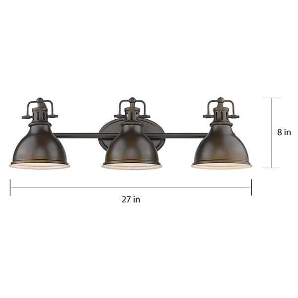 Copper Grove Artik 3 Light Industrial Bronze Bathroom Light Fixture Overstock 29922553