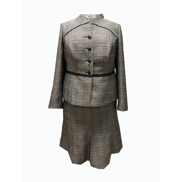 Danillo Missy Skirt Suit Style 752899. Opens flyout.