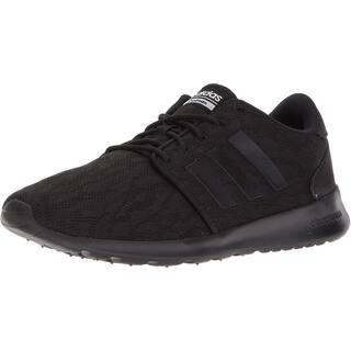 adidas Womens CF QT Racer W Sneaker - Core Black/Core Black/White - 6.5