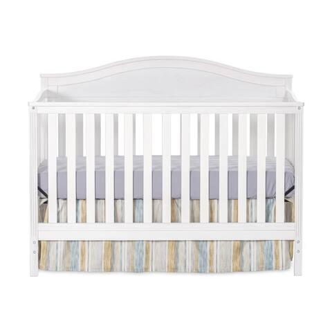 Sidney 4-in-1 Convertible Crib, Dapper Gray by Child Craft