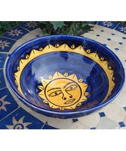 Ceramic Sun Smile Bowl (Morocco)