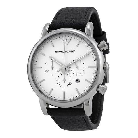 Emporio Armani Classic Leather Mens Watch AR1807