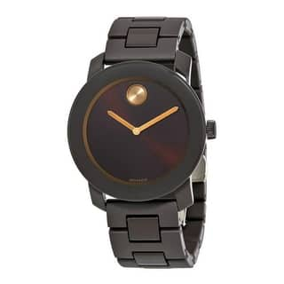 Movado Bold Stainless Steel Mens Watch 3600462