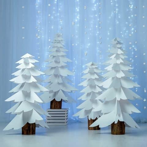 Photography Backdrop Studio Photo Prop 5' x 7' Christmas Tree E
