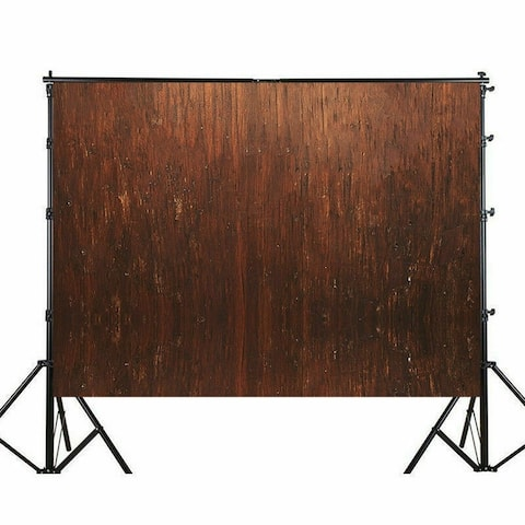 Photography Backdrop Studio Photo Prop 5' x 7' Brown Red