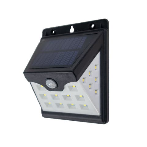 22 LED Solar Lights Wireless Waterproof Motion Sensor Outdoor Light for Patio, Deck, Yard with Motion Activated Auto On/Off