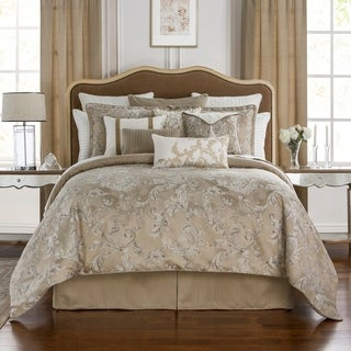 Link to Waterford Chantelle Reversible 4 Piece Comforter Set Similar Items in Comforter Sets