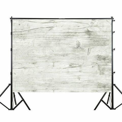 Photography Backdrop Studio Photo Prop 5' x 7' Gray White 1