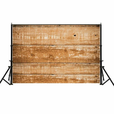 Photography Backdrop Studio Photo Prop 5' x 7' Brown Mottled Plank