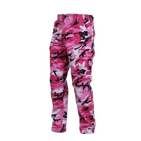 Rothco Bdu Pant - Pink Camo - Medium - 8670-PINK-M
