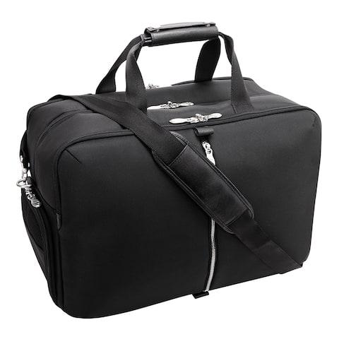 "McKlein USA AVONDALE 22"" Nylon, Triple Compartment, Carry-All, Travel, Laptop Duffel"