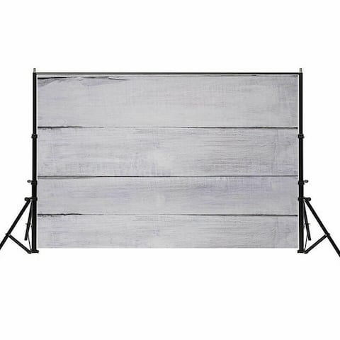 Photography Backdrop Studio Photo Prop 5' x 7' Pure Grey