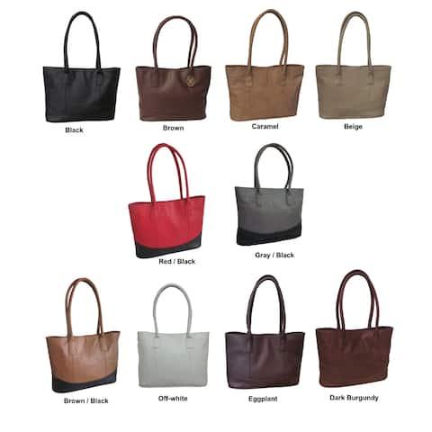 Amerileather Casual Leather Handbag