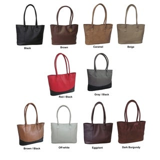 Amerileather Casual Leather Handbag (3 options available)