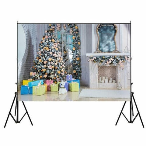 Photography Backdrop Studio Photo Prop 5' x 7' Christmas A