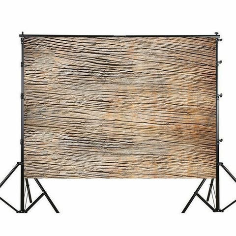 Photography Backdrop Studio Photo Prop 5' x 7' Brown Old Cracks