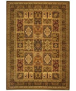 Safavieh Lyndhurst Collection Isfan Green/ Multi Rug (8' x 11')