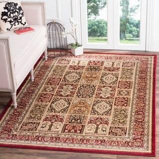 Safavieh Lyndhurst Traditional Oriental Red/ Multi Rug (5'3 x 7'6)