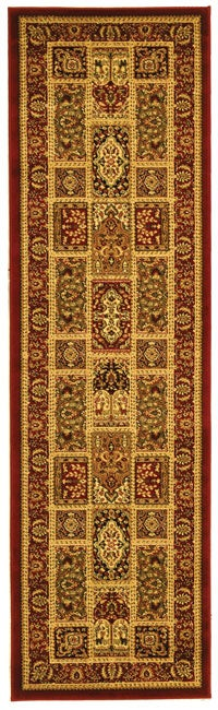 Safavieh Lyndhurst Traditional Oriental Red/ Multi Runner (2'3 x 8')