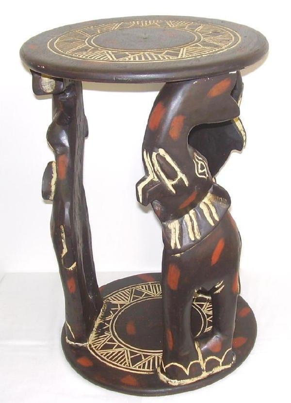 Elephants In Motion Table (Ghana)