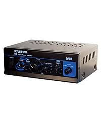 Pyle PTA2 2 X 40W Stereo Power Amplifier AUX/CD/MIC-In Bass/Treble Control