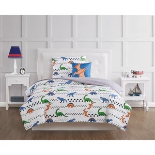 Link to My World Dino Tracks 4 Piece Comforter Set Similar Items in Kids Comforter Sets