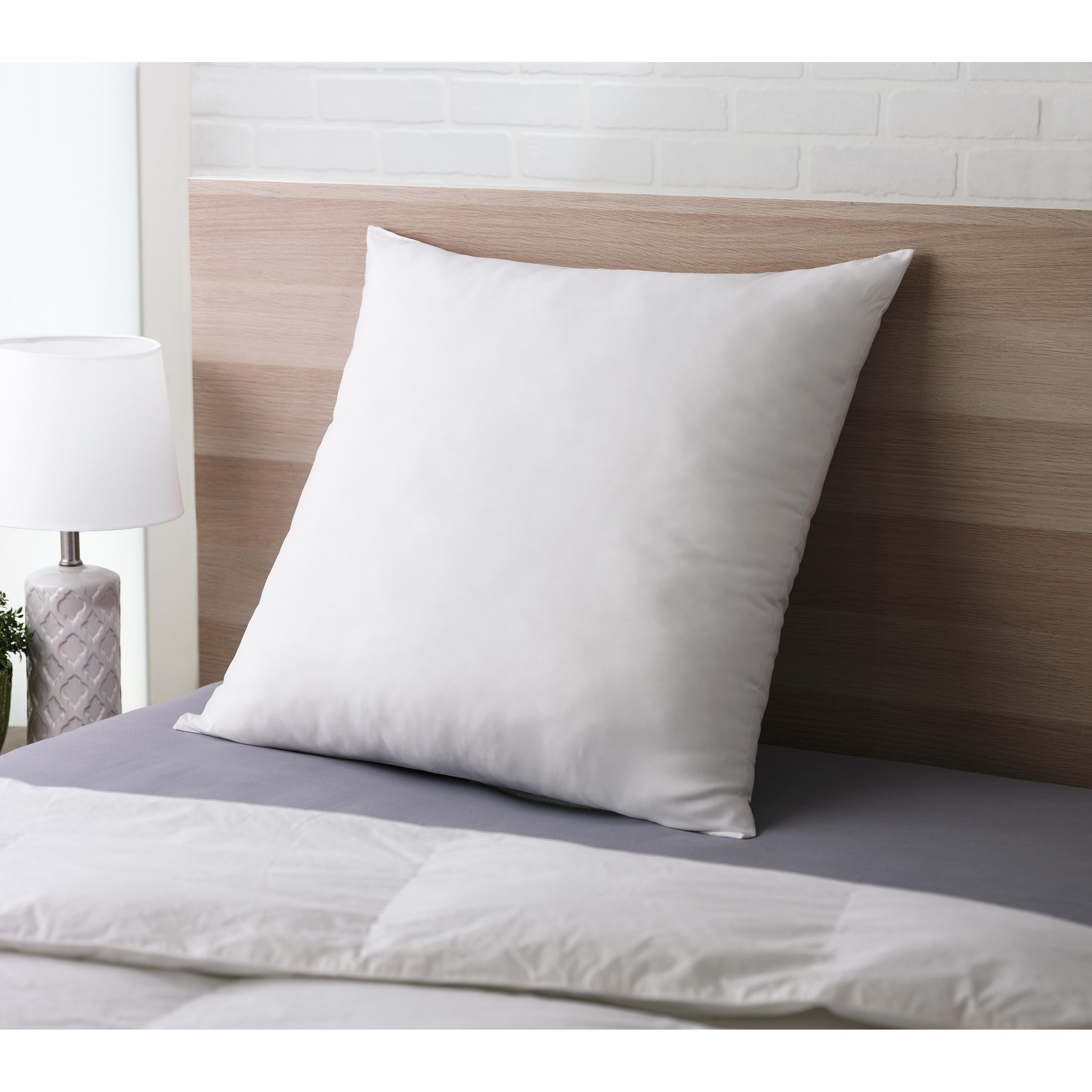 Shop Cozy Classics Big And Lofty Euro Pillow Overstock 29952248