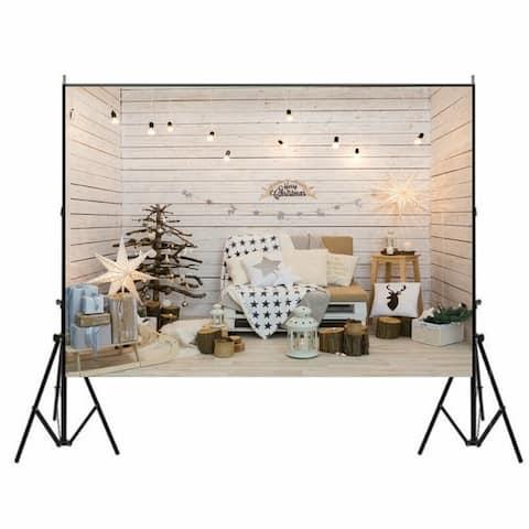 Photography Backdrop Studio Photo Prop 5' x 7' Christmas Decoration