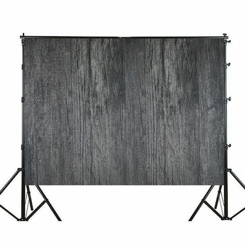 Photography Backdrop Studio Photo Prop 5' x 7' Black Dense Texture