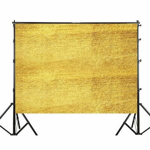 Photography Backdrop Studio Photo Prop 5' x 7' Golden Yellow