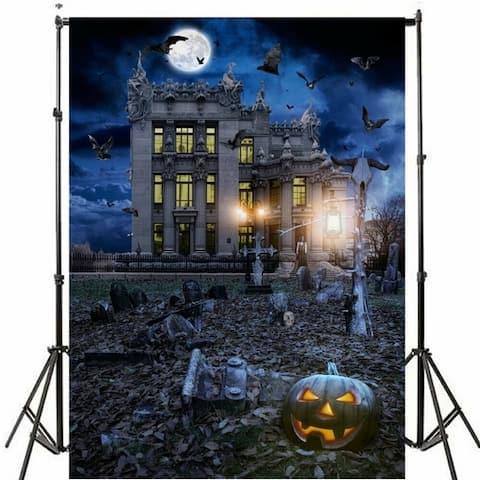 Photography Backdrop Studio Photo Prop 5' x 7' Halloween D
