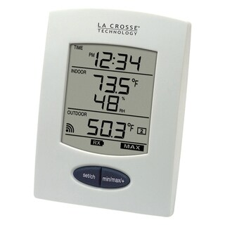 La Crosse Technology WS-9029U-IT Wireless Temperature and Humidity station with detachable probe