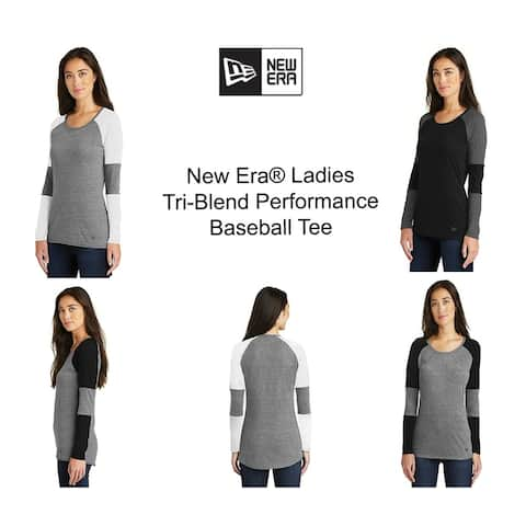 New EraLadies Tri Blend Performance Baseball Tee