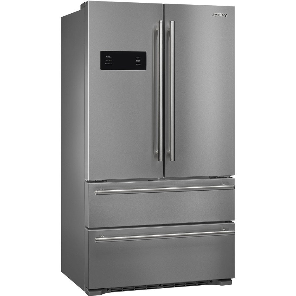 Smeg  French Door Refrigerator/Freezer 2 doors and 2 drawers Stainless steel