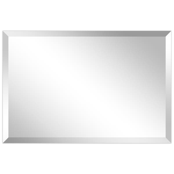 Shop Porch Den Shawmut Frameless Beveled Prism Wall Mirror On Sale Overstock 29964416