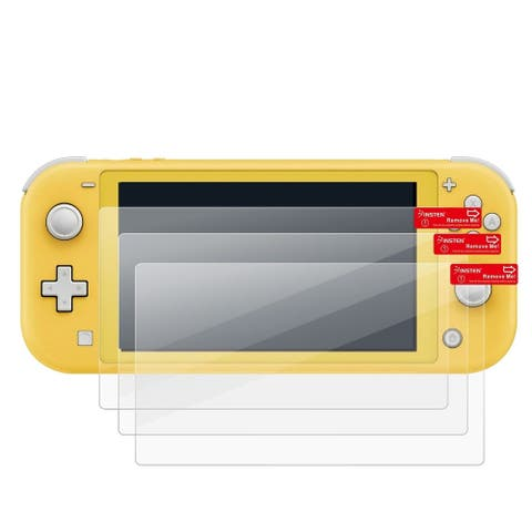 3 Pack Clear LCD Screen Protector Film Cover For Nintendo Switch Lite