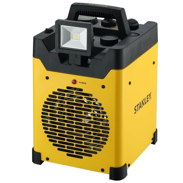 STANLEY Heavy-Duty Electric Space Heater w/ LED and USB