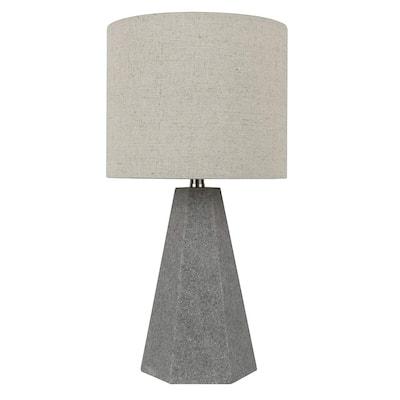 Carbon Loft Michalski Natural Stone Table Lamp, 15.5 inch Tall