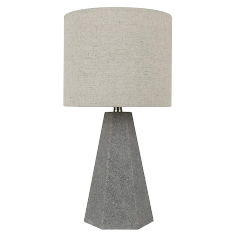 Carbon Loft Michalski Natural Stone Table Lamp, 15.5 inch Tall