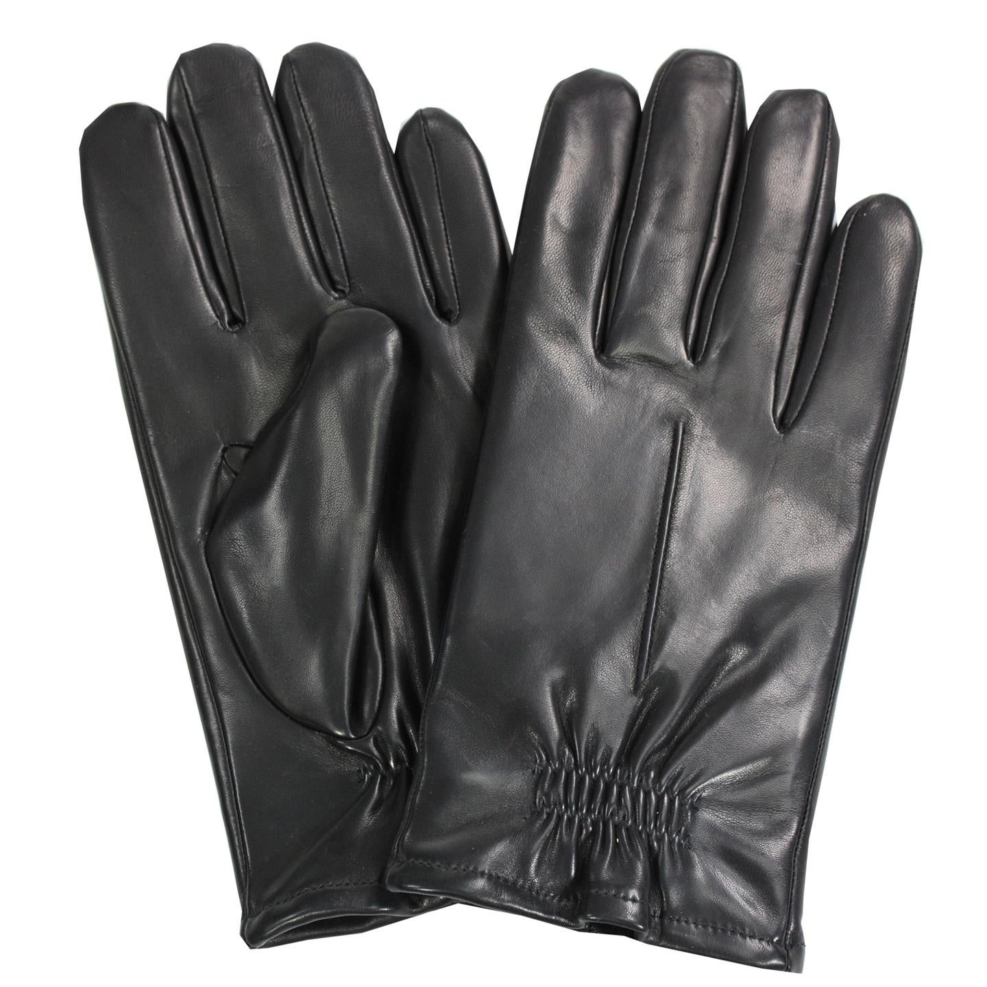 Epoch Mens Leather Thinsulate Lined Glove Black FREE 2 DAY SHIPPING